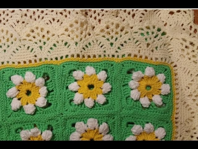 Tutorial copertina all'uncinetto - baby blanket crochet -
