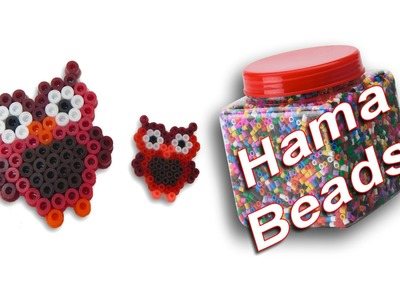 Tutorial Gufo.Gufetto con Hama Beads.Pyssla - Collaborazione con www.perlinedastirare.it