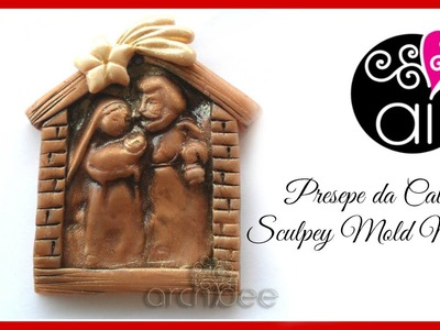 Tutorial | Polymer Clay | Calchi con Sculpey Mold Maker | Un piccolo presepe | DIY Mold