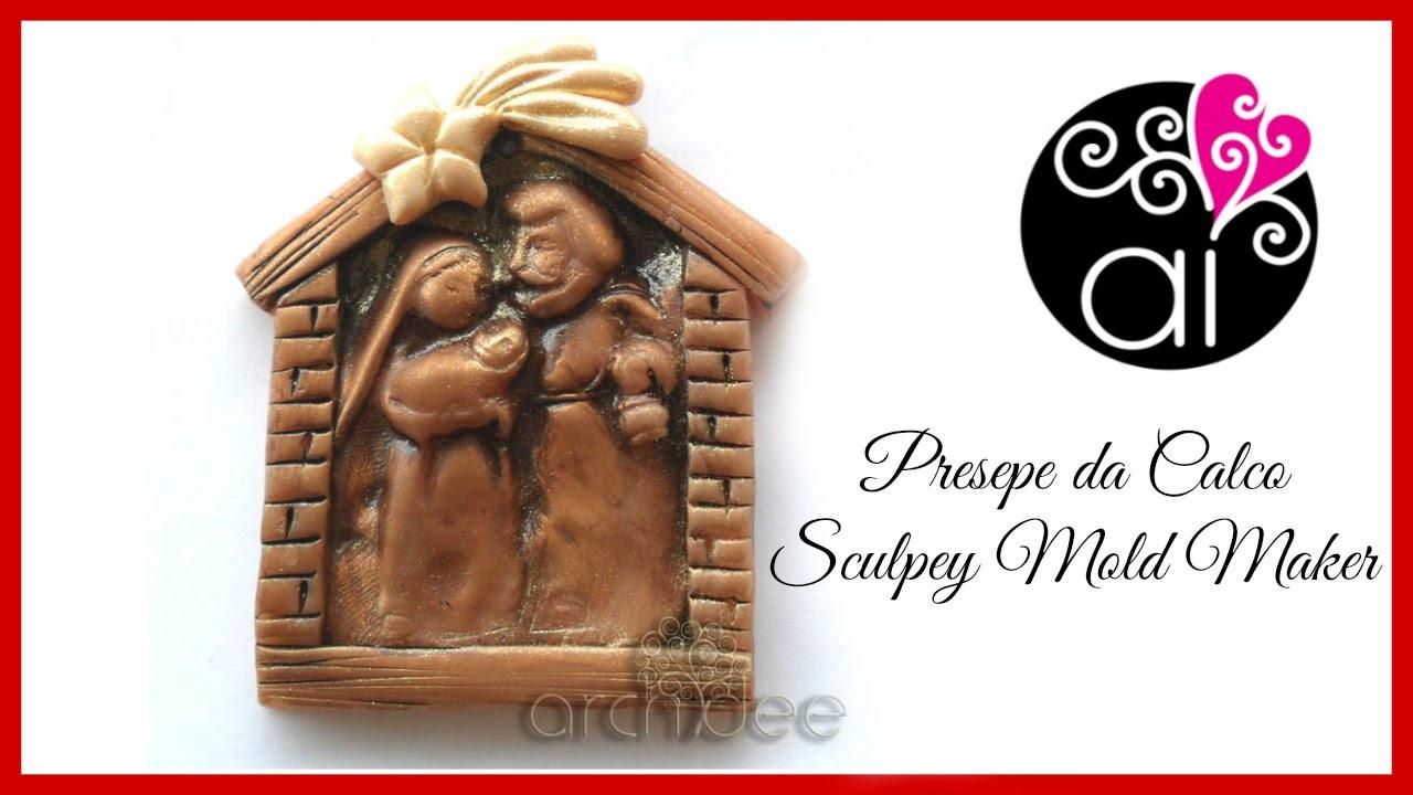 Tutorial | Polymer Clay | Calchi con Sculpey Mold Maker | Un piccolo presepe | DIY Mold