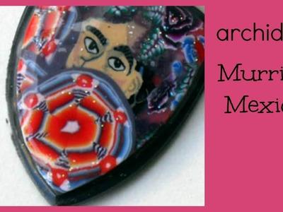 Tutorial | Polymer Clay | DIY Millefiori Mexico Cane | Murrina Mexico | Mexico Collection