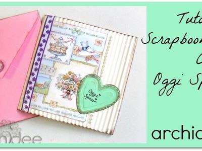 Tutorial | Scrapbooking | Card Oggi Sposi | DIY Easy Wedding Card