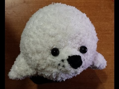Tutorial Uncinetto - la foca amigurumi - sello crochet - crochet seal -