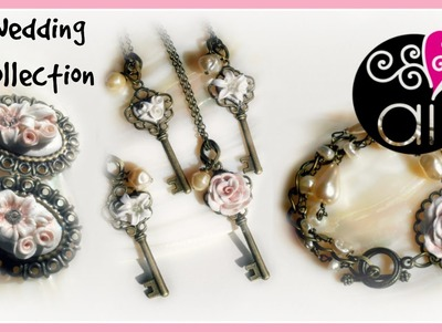 Wedding & Bridesmaids Collection | Polymer Clay | Collezione per Sposa e Damigelle