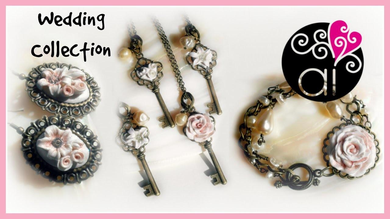 Wedding & Bridesmaids Collection | Polymer Clay | Collezione per Sposa e Damigelle