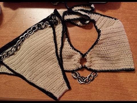 Costume uncinetto Bikini crochet - parte II - Tutorial