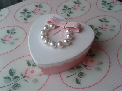 DIY Tutorial scatolina decorata.bonbonniere.fancy sweet-box