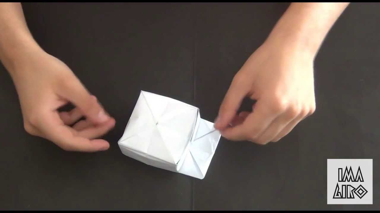 ORIGAMI TUTORIAL #11:IL BERRETTO. THE CAP