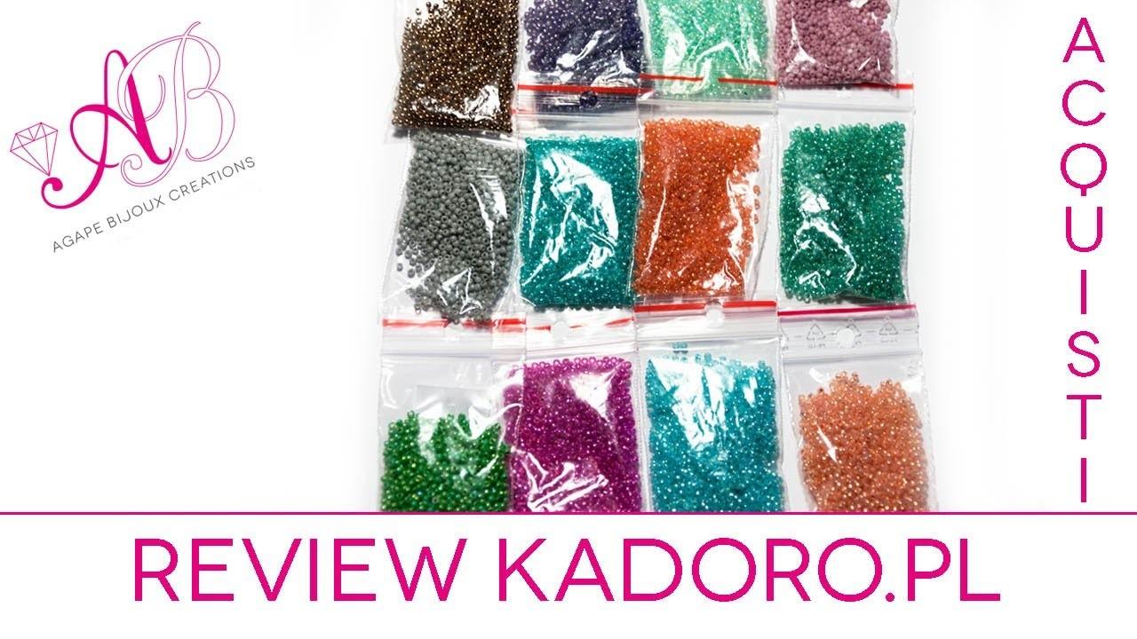 Review acquisti Kadoro - Perline, perline perline.  Beads, beads, beads! #handmadebot #handmade