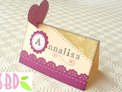 Scrapbooking Tutorial: Segnaposto! - Scrap Placeholders!