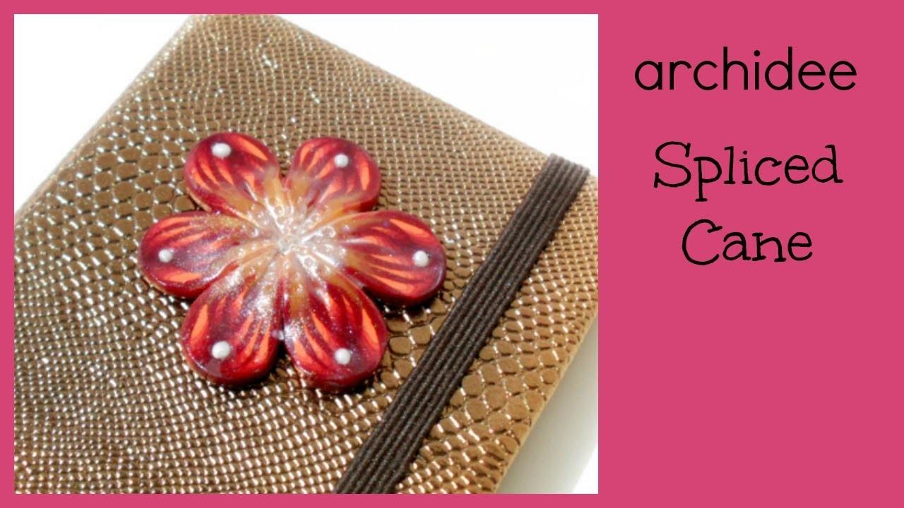 Spliced Cane | Tutorial Polymer Clay | Fiori con petali di Murrina | Decori per oggetti e cabochon