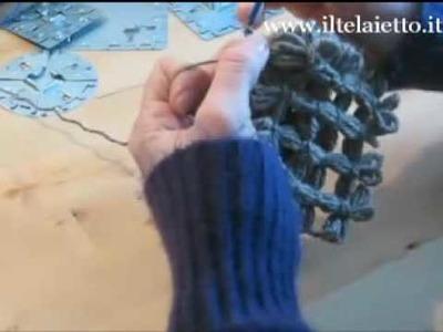 Telaietto in metallo quadrato unione quadrati parte II - http:.YarnBay.etsy.com