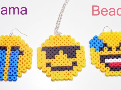 Tre Faccine Emoticon con Pyssla.Hama Beads Tutorial | Emoji Series Episode #2