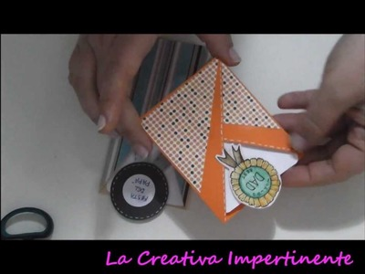 Tutorial Paper Craft: biglietto abbraccio per la festa del papà | DIY father day card scrapbooking