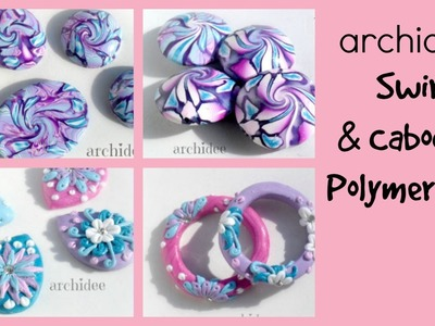 Video Creazioni | Polymer Clay | DIY Cabochon | Swirl | Beads