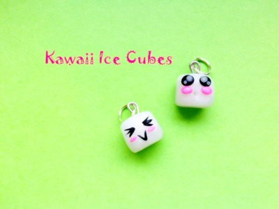 Cubetti di Ghiaccio Kawaii. Kawaii Ice Cubes - Polymer Clay Tutorial