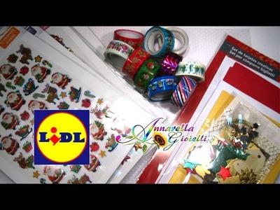 Acquisti lidl Nov. 2014 | Washi tape, biglietti di Natale, adesivi 3d