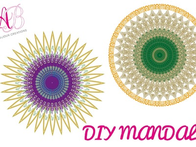DIY Tutorial | Come realizzare un mandala