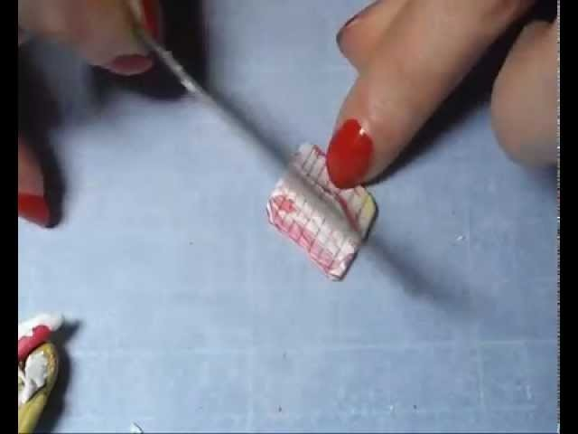 FIMO TUTORIAL: CIALDA PER CONO GELATO!!!!! ICE CREAM POLYMER CLAY!