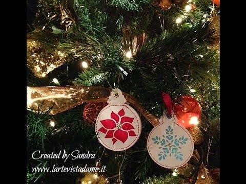 Natale Fai da te:Decorazione albero.Tag Chiudipacco Imbottita Tutorial-Christmas DIY