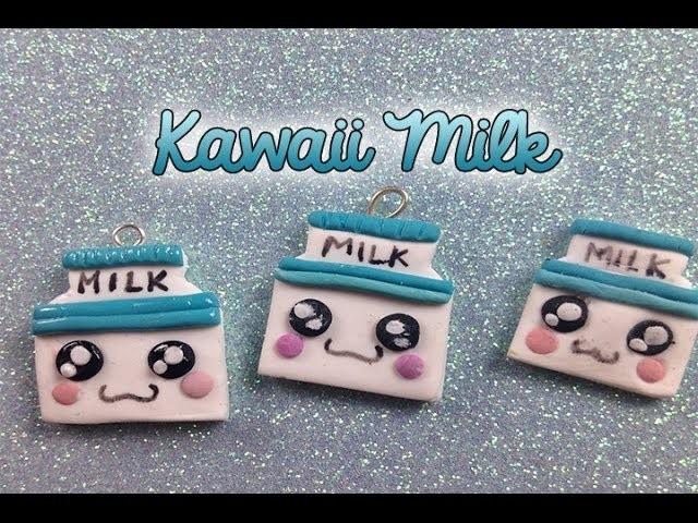 Polymer Clay ♡  Kawaii Milk