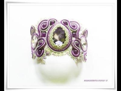 Qualche creazione al soutache e bead crochet con cristalli bicono swarovski da 4 mm
