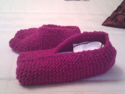 Stivali e pantofole riciclando la lana dei vecchi maglioni