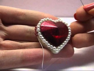 Tutorial | San Valentino | Rifinitura con Rizo.Solo - Embroidery
