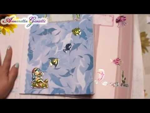 Vlog creativo #4 | Back to school: quaderni ricoperti | bracciali caucciù | kanzashi.