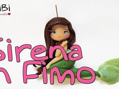 Come creare una sirena in Fimo - How to make a polymer clay mermaid
