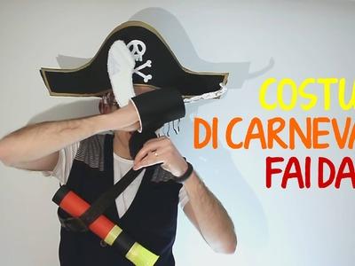 Costumi di Carnevale per bambini fai da te: pirata -1 parte