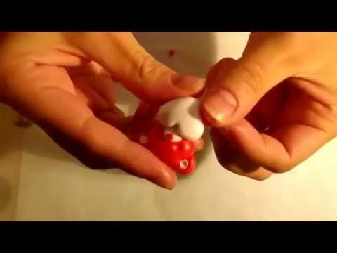 Creare in FiMO ~ Orsetto con cuore. Polymer Clay ~ How to make a teddy bear