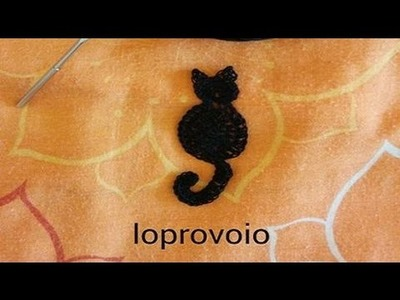 Gatto all'uncinetto - Crochet cat