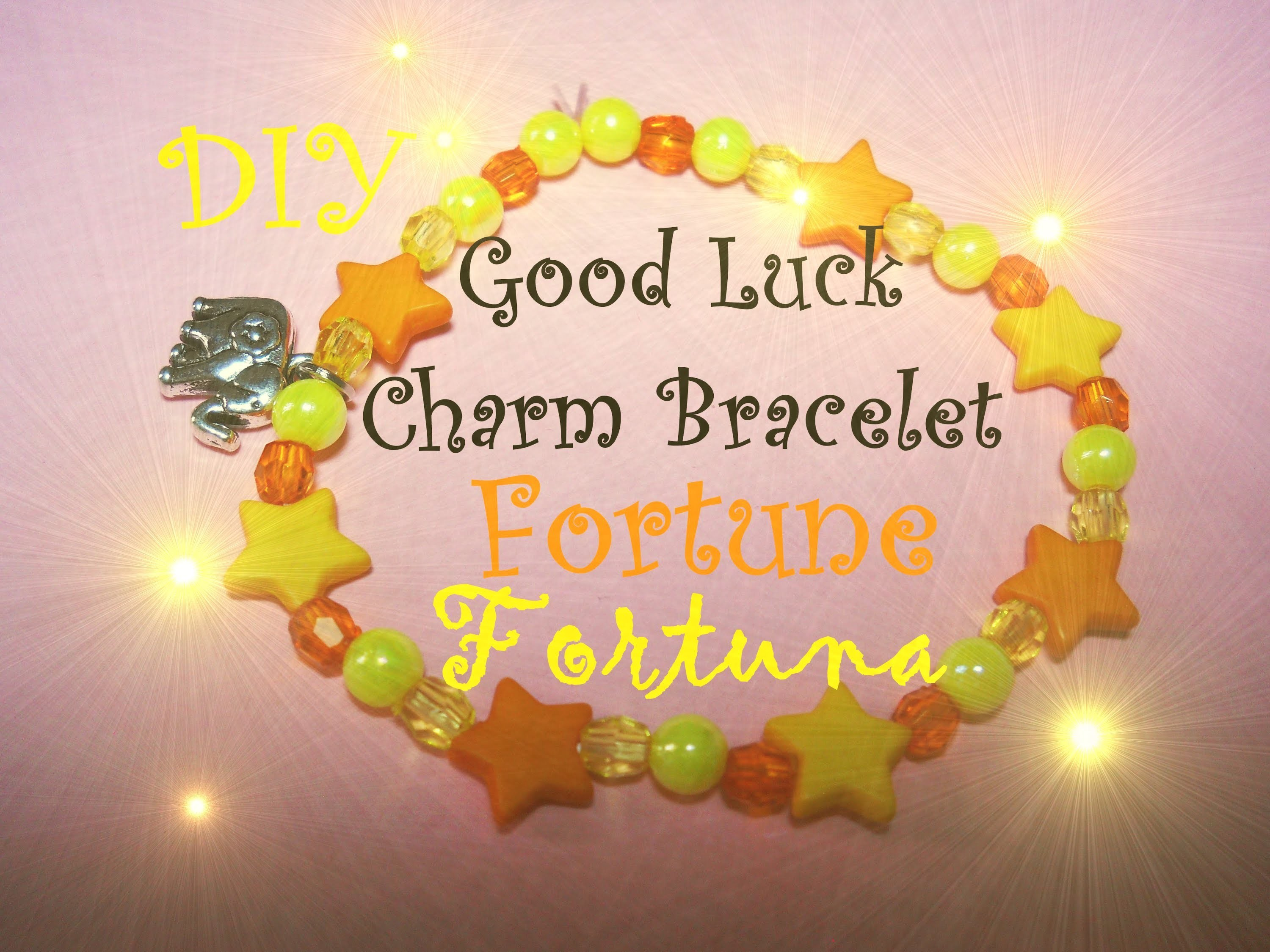 Good Luck Charm Bracelet ✧ Fortune. Luck ✧ Braccialetto della Fortuna - Tutorial. DIY. How to