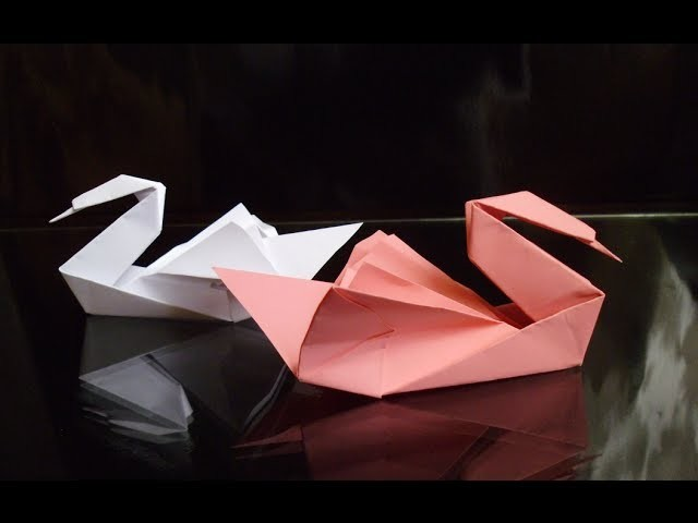 HD Origami Swan Tutorial