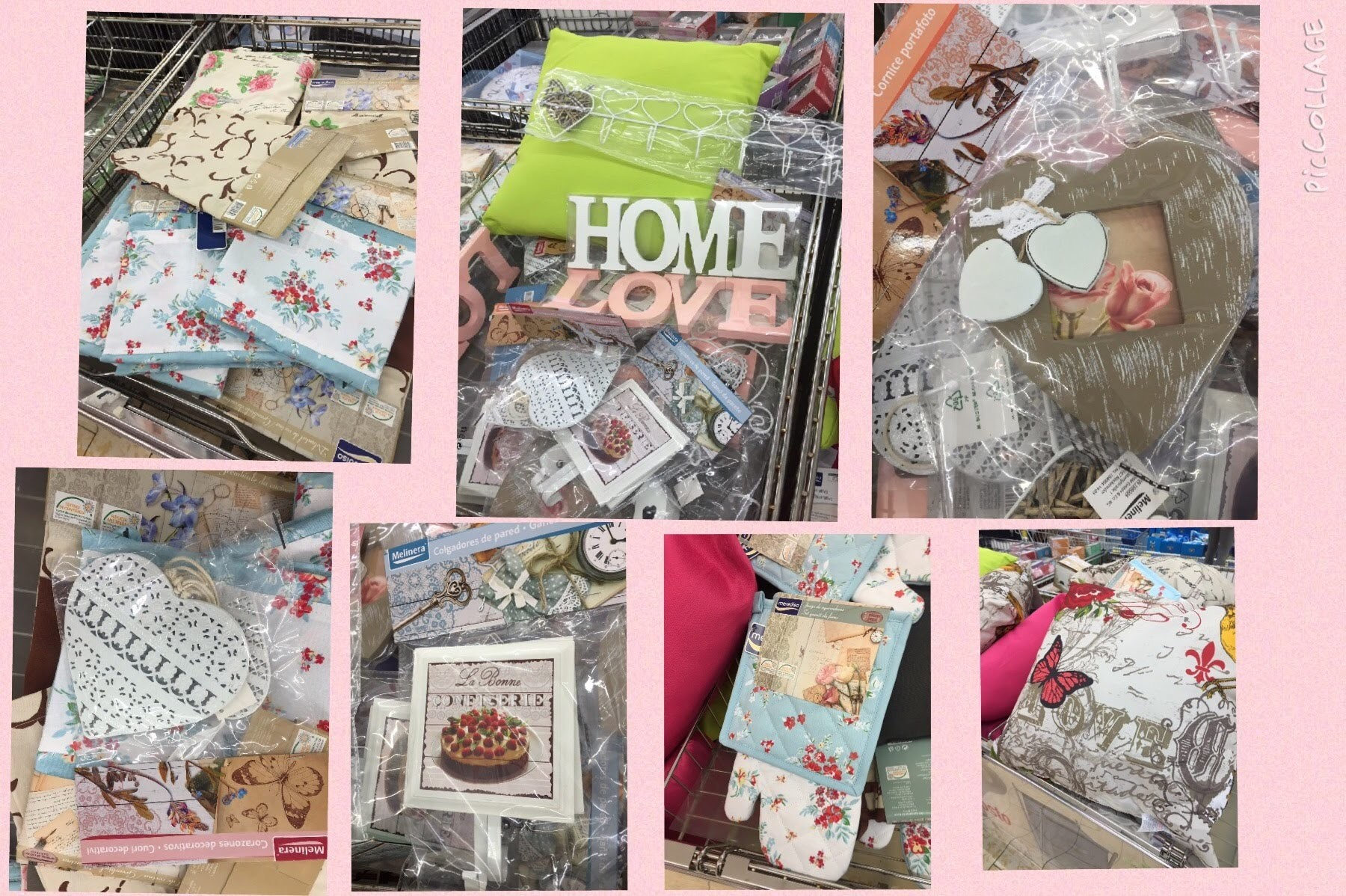 Home decor: shabby chic low cost alla Lidl !