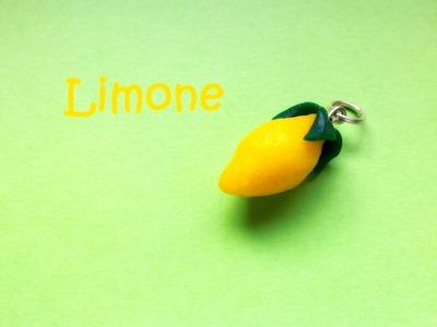 Limone (Lemon), tutorial per un piccolo bijoux (Polymer Clay - Fimo, Cernit, Premo, Kato)