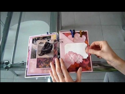 Romantic Envelope Mini Album - Lago di Garda