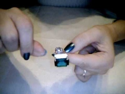 "Tutorial anello Swarovski ""smeraldo"" 3.3"