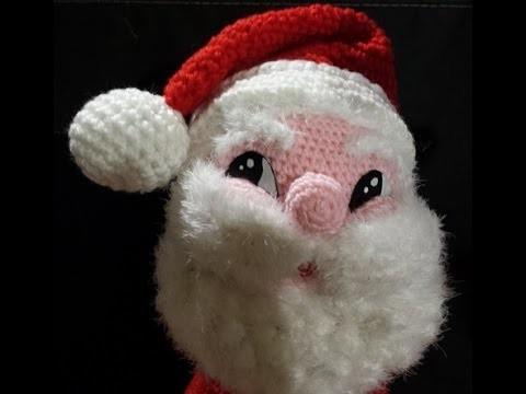 Tutorial Babbo Natale all'uncinetto  amigurumi parte II - Santa Claus Crochet - Papá Noel crochet