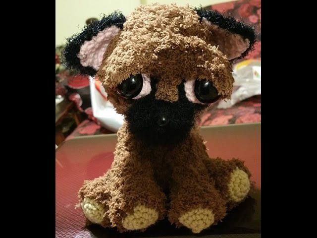 Tutorial chiwawa all'uncinetto amigurumi - crochet amigurumi dog - crochet perro