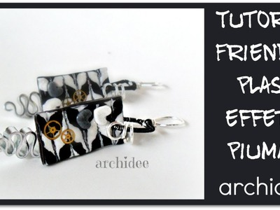 Tutorial | Friendly Plastic | Black & White Piumato | in collaborazione con Perles&Co.