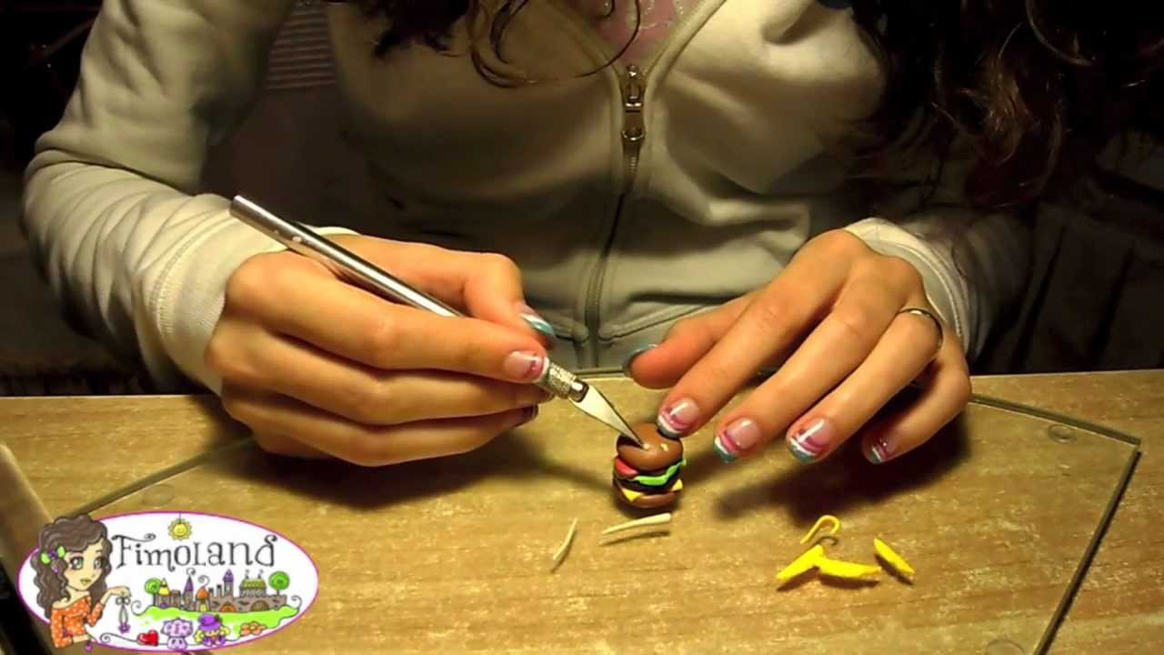 Tutorial Hamburger Polymer Clay - Fimo (www.fimoland.it)