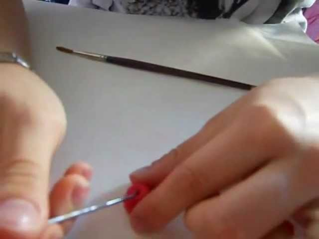 Tutorial - Mela in polymer Clay ( Fimo Tutorial ^.^ ) .wmv
