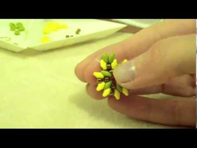 TUTORIAL ORECCHINI OLEA CON LE SUPERDUO(Tutorial Earrings Olea)