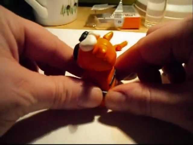 Tutorial Tigre in Fimo. Cernit - Polymer clay tiger - Creazioni.wmv