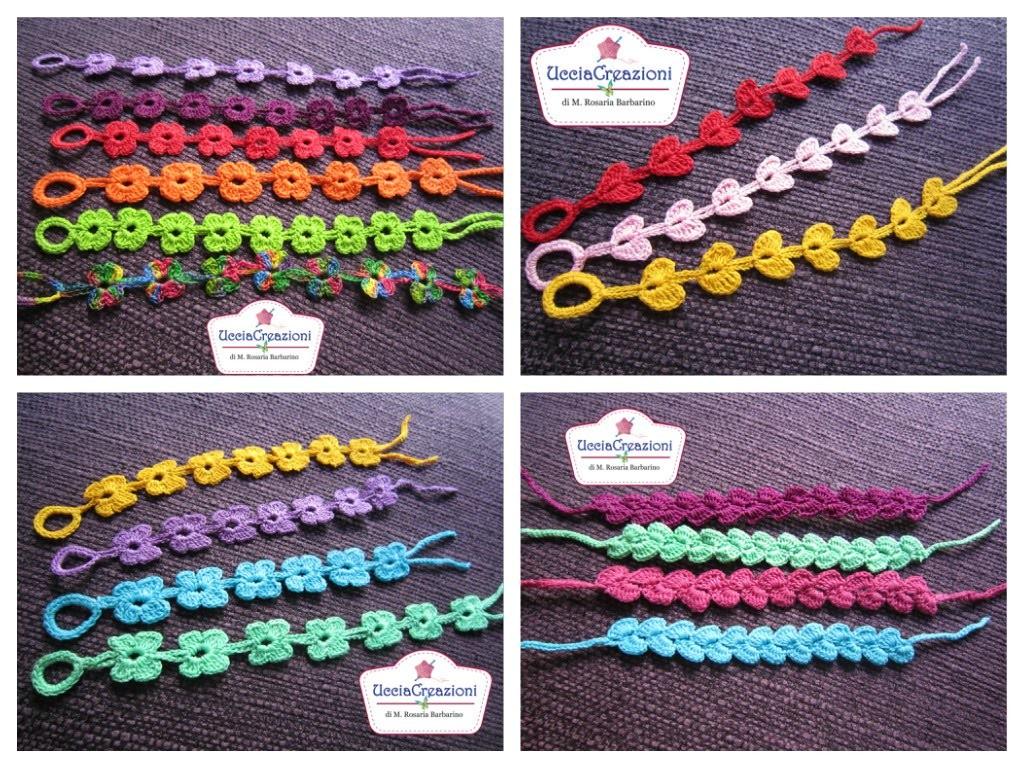 Tutti i miei Bracciali Cruciani all'Uncinetto !!!! Crochet Bracelets
