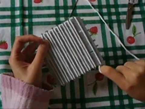 Uncinetto Tecnica Del Telaietto Parte I - http:.YarnBay.etsy.com