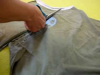 Lilla's tutorials: Dalla maglietta alla fettuccia. The t-yarn