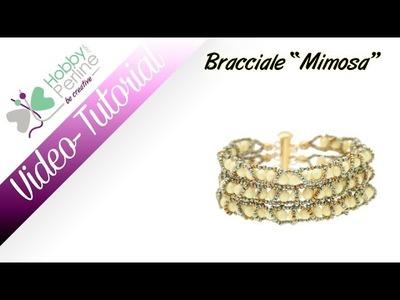 Bracciale Mimosa | TUTORIAL - HobbyPerline.com